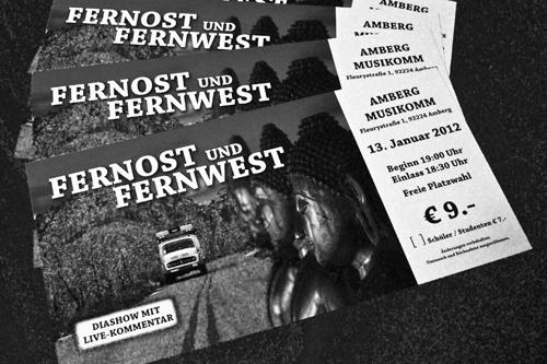 Amberg. Fernost und Fernwest – Die Premiere.