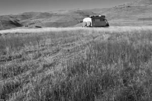Lesotho8_Reifenwechselplatz