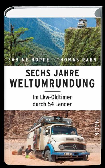 6 Jahre Weltumrundung – Das Buch zur Reise – jetzt im Handel!