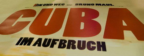 Eröffnung der Vortragsreihe HIN UND WEG in Amberg.