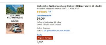 Nur heute – das E-Book für nur 5,99€ statt 19,99€ bei Amazon
